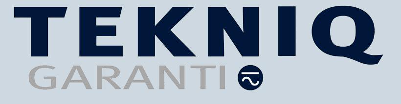 tekniq garanti logo mørk png